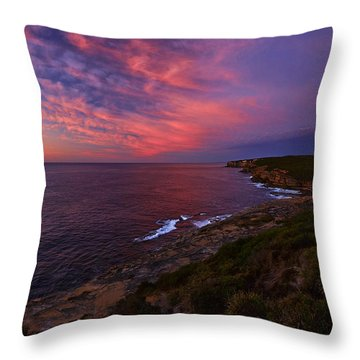 The Balconies Throw Pillow