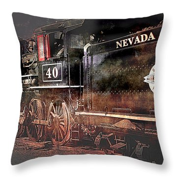 Throw Pillow featuring the photograph The Baldwin by Gunter Nezhoda