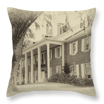 The Baruch House Throw Pillow