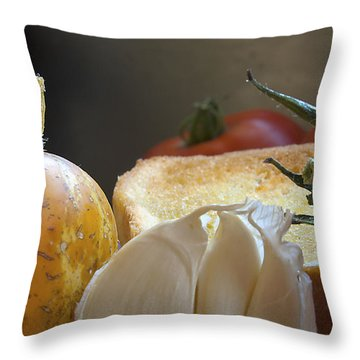 Throw Pillow featuring the photograph The Basics by Joe Schofield