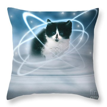 The Beautiful Ethel Throw Pillow by Terri Waters