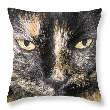 The Beauty Mau Throw Pillow