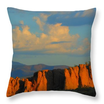 The Beauty Of Arizona Throw Pillow