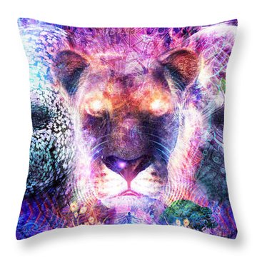 The Beauty Of It All Throw Pillow by Cameron Gray