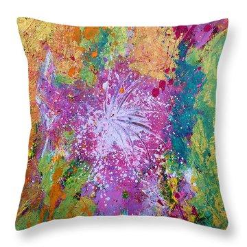 Contemporary Abstract  Throw Pillow