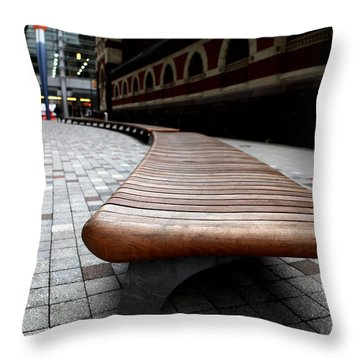 The Bench - 001 Throw Pillow