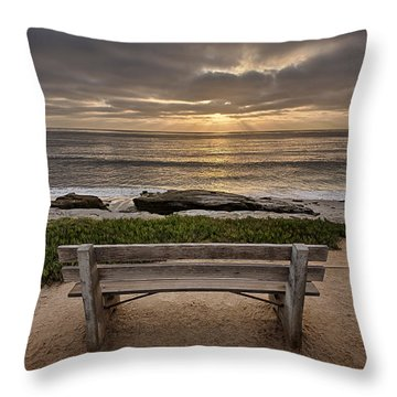 The Bench IIi Throw Pillow