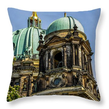 The Berlin Dome Throw Pillow