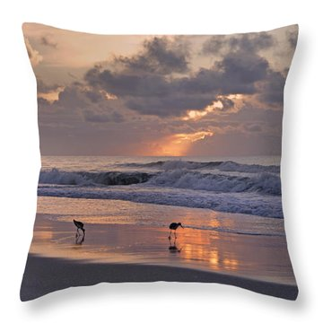 The Best Kept Secret Throw Pillow by Betsy Knapp