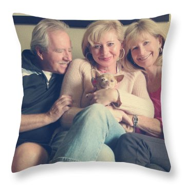 The Best Throw Pillow by Laurie Search