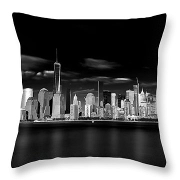 Skyscraper Throw Pillows