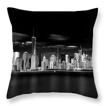 Skyscrapers Throw Pillows