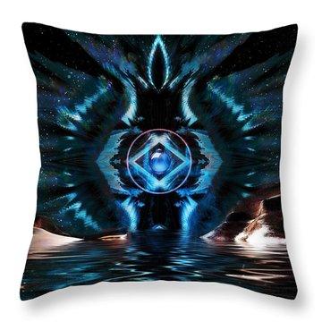 The Big Bang Throw Pillow by Mario Carini