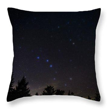 The Big Dipper Cranberry Wilderness Throw Pillow