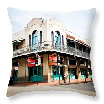 The Big Easy Throw Pillow by Sylvia Cook