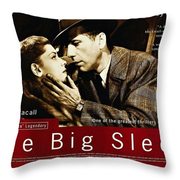 The Big Sleep  Throw Pillow