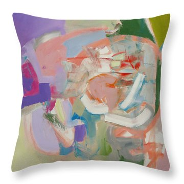 The Big Top Throw Pillow