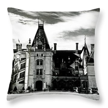 The Biltmore Estate 2 Throw Pillow by Luther Fine Art