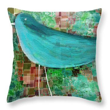 The Bird - 23a1c2 Throw Pillow by Variance Collections
