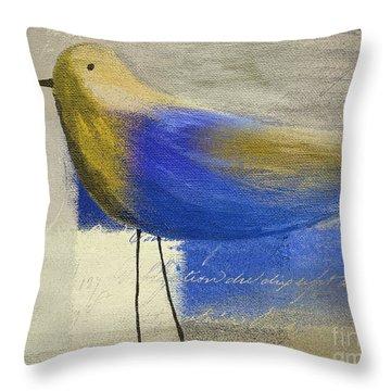 The Bird - J100124164-c21 Throw Pillow
