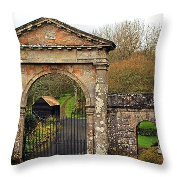The Bishop's Gate Throw Pillow