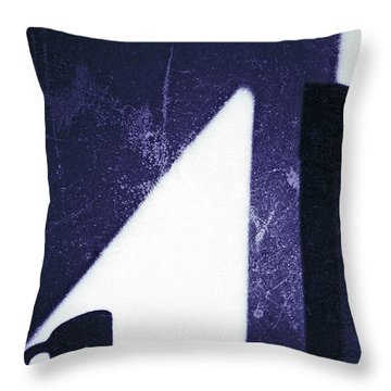 The Blue Cup Throw Pillow