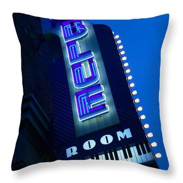 The Blue Room Jazz Club, 18th & Vine Throw Pillow