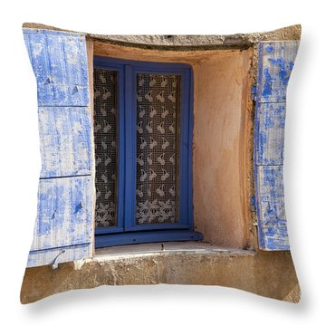 The Blues Throw Pillow by Bob Phillips