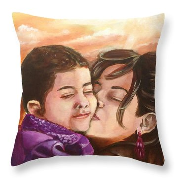 The Bond Throw Pillow by Ka-Son Reeves