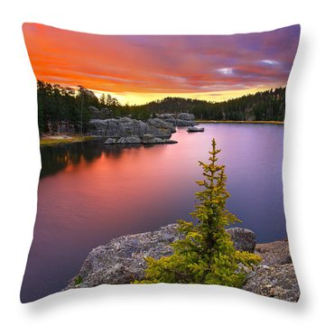 The Bonsai Throw Pillow