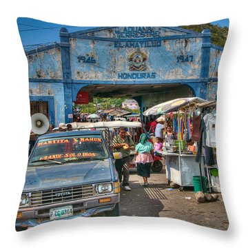 The Border Boogie Throw Pillow