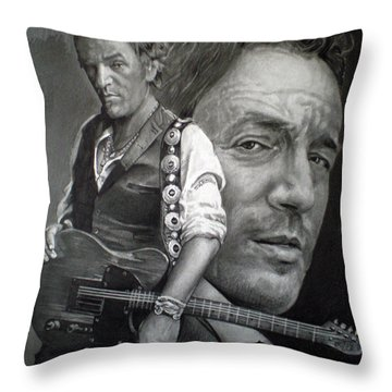The Boss Throw Pillow by Raoul Alburg
