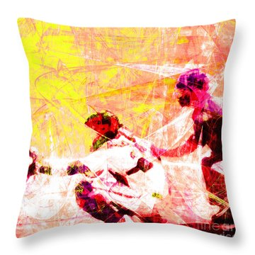 The Boys Of Summer 5d28228 The Catcher Square V2 Throw Pillow