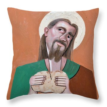 The Bread Of Life Throw Pillow