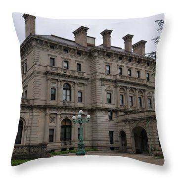 The Breakers  --  Newport Rhode Island  Throw Pillow