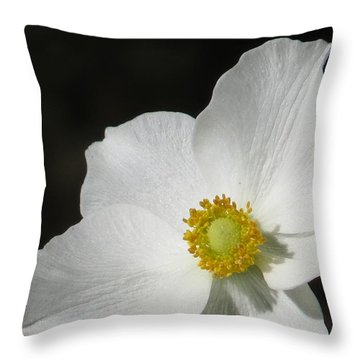 The Bride Throw Pillow by Jeanette Oberholtzer