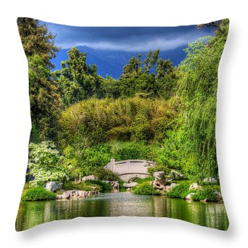 The Bridge 12 Throw Pillow