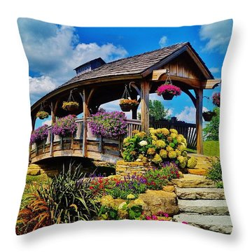 The Bridge 2 Throw Pillow