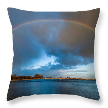 The Bridge Across Forever Throw Pillow