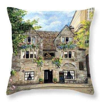 The Bridge Tea Rooms Throw Pillow