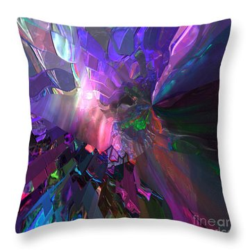 The Brighter Side Throw Pillow by Margie Chapman