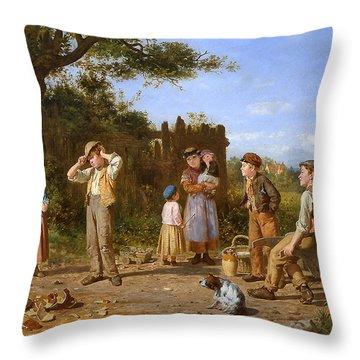 The Broken Jar Throw Pillow by J O Banks