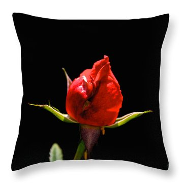 The Bud Throw Pillow