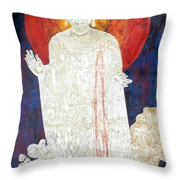 The Buddha's Light Throw Pillow