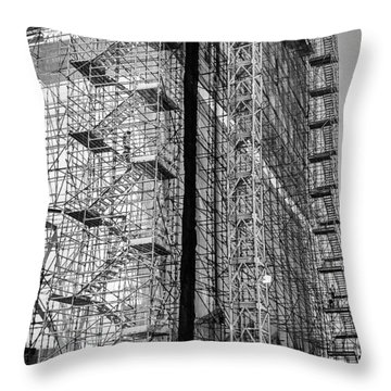 The Builders, Cape Town, South Africa Throw Pillow