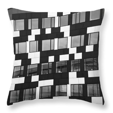 The Buildilng Throw Pillow