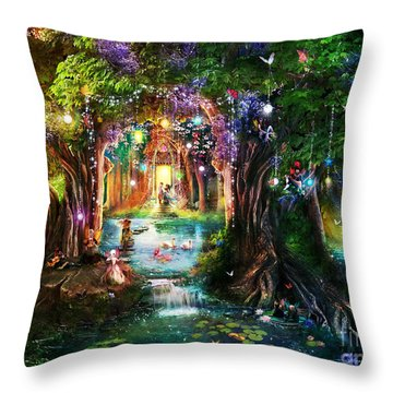Aimee Stewart Throw Pillows