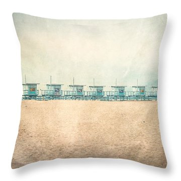 Venice Beach Throw Pillows