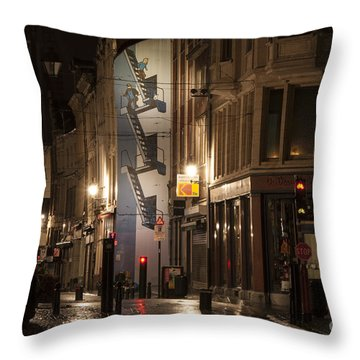 The Calculus Affair Throw Pillow by Juli Scalzi