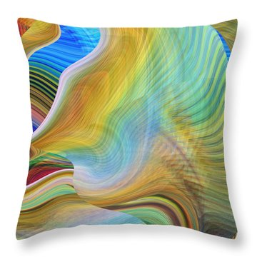 The Call Of The Sea Throw Pillow